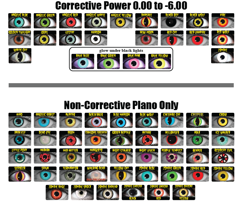 2ce31167fe Home   Our Lenses   Cosmetic Lenses   Theatrical Contact Lenses